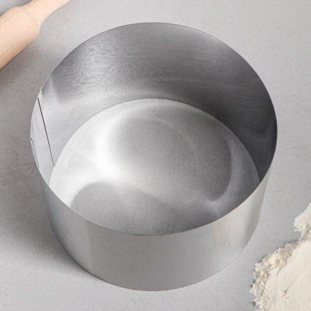Кольцо для выпечки H=12 см D=18 см