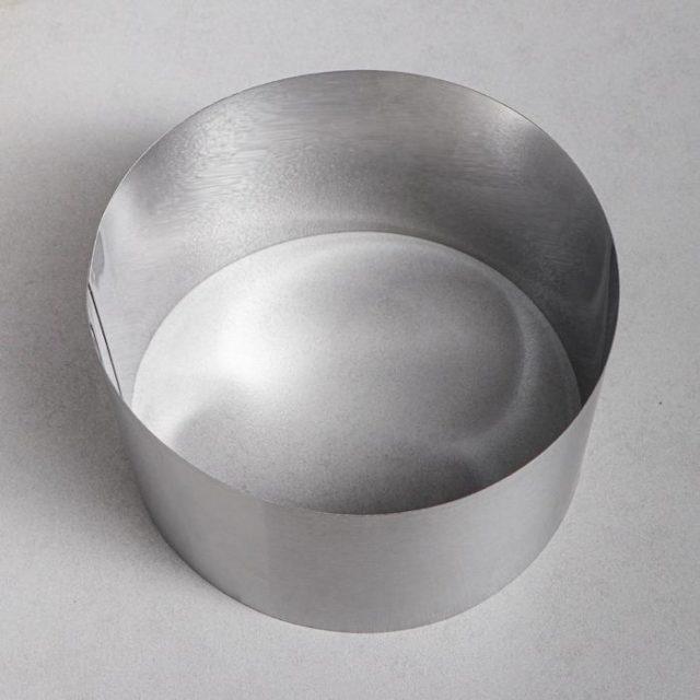 Кольцо для выпечки H=12 см D=20 см