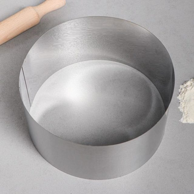 Кольцо для выпечки H=12 см D=22 см