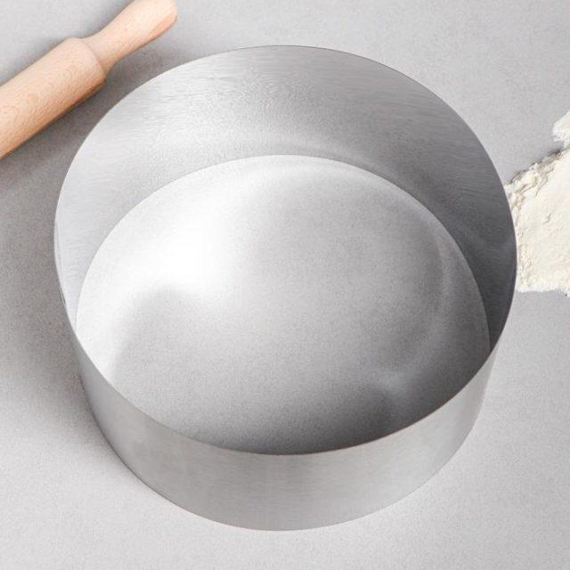 Кольцо для выпечки H=12 см D=24 см
