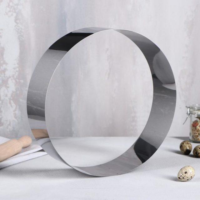 Кольцо для выпечки H=8,5 см D=28 см
