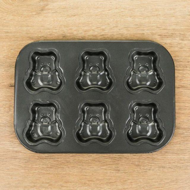 Форма для выпечки «Медведь»