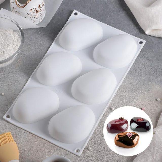 Форма для муссовых десертов «Стоун»