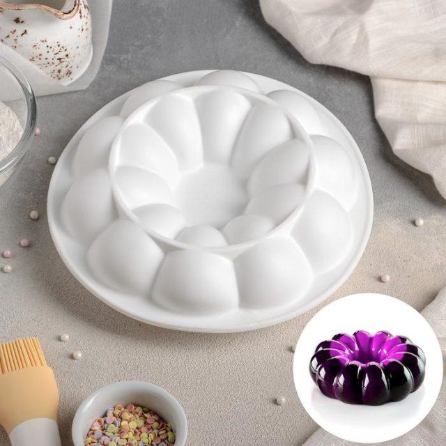 Форма силиконовая для муссового торта «Цветок»