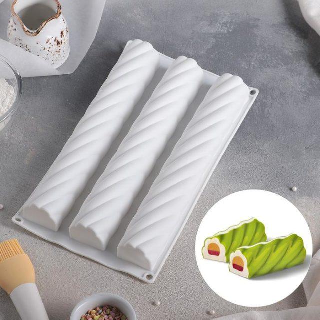 Форма для муссовых десертов «Жгут»