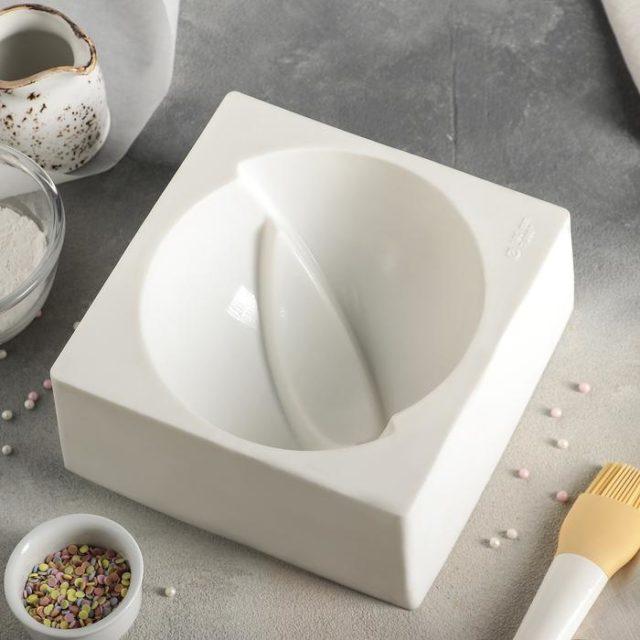 Форма силиконовая для муссового торта «Мерси»
