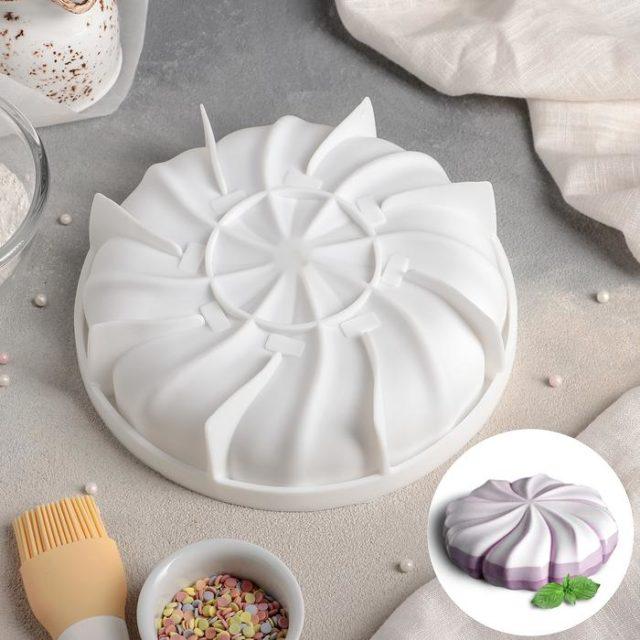 Форма силиконовая для муссового торта «Зефир»