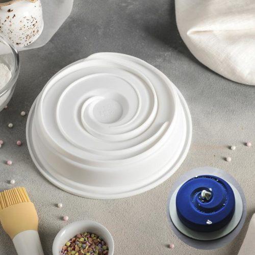 Форма силиконовая для муссового торта «Круговорот»