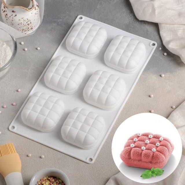 Форма для муссовых десертов «Перина»