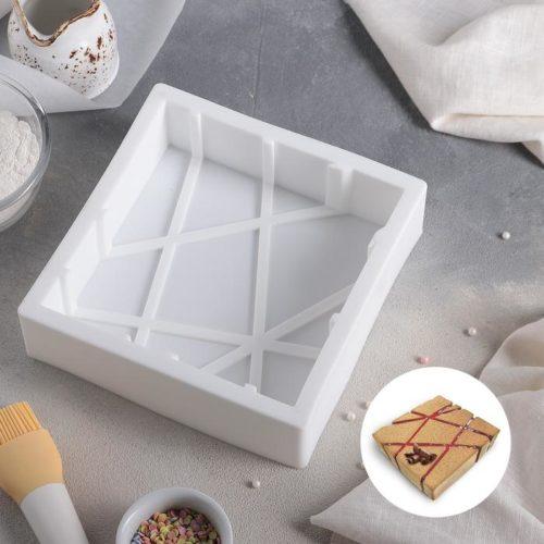 Форма силиконовая для муссового торта «Сети»