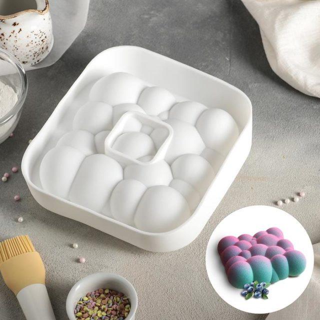 Форма силиконовая для муссового торта «Облака»