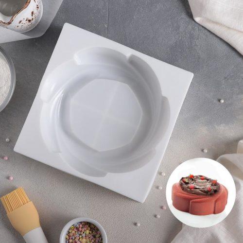 Форма силиконовая для муссового торта «Властелин колец»