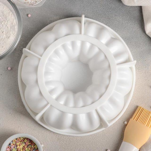 Форма силиконовая для муссового торта «Немецкий кекс»