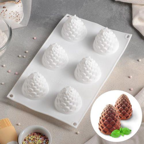 Форма для муссовых десертов «Шишка»