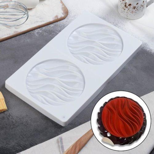 Форма для муссовых десертов «Зебрано»