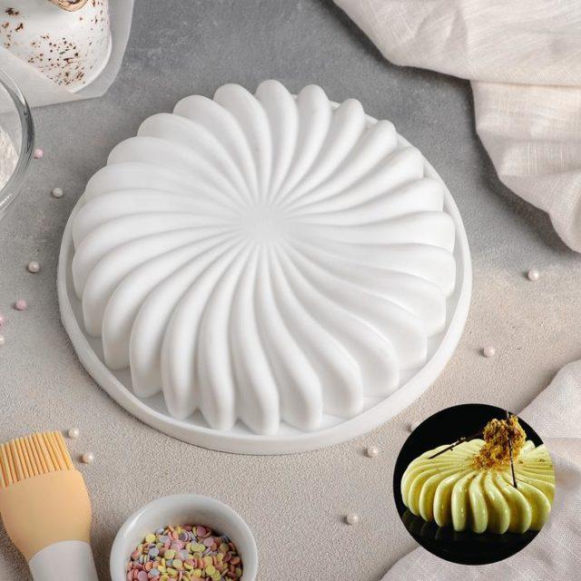 Форма силиконовая для муссового торта «Нежная сладость»