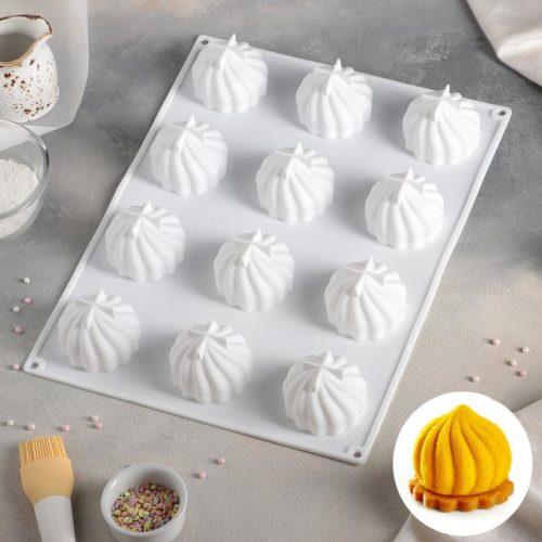 Форма для муссовых десертов «Взбитые сливки»