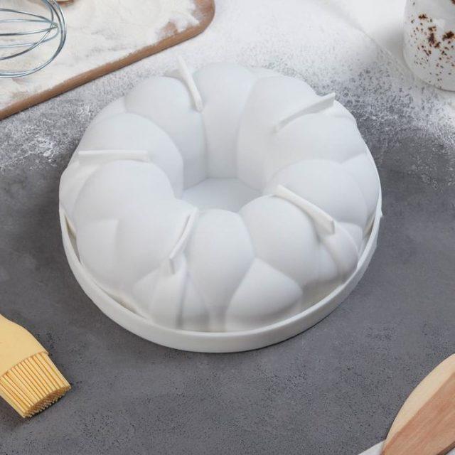 Форма силиконовая для муссового торта «Цветочное лакомство»