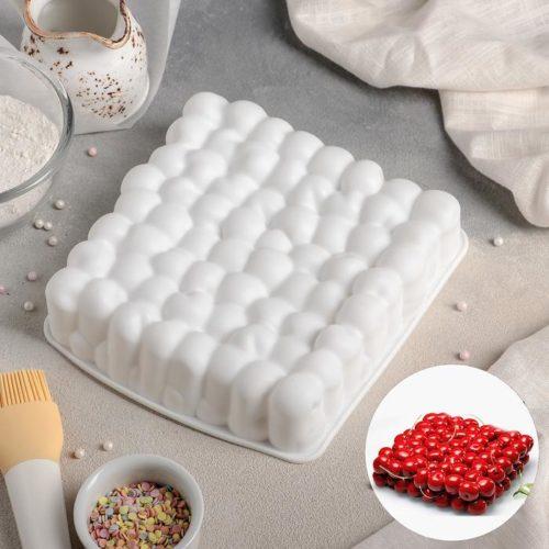 Форма силиконовая для муссового торта «Вишни»