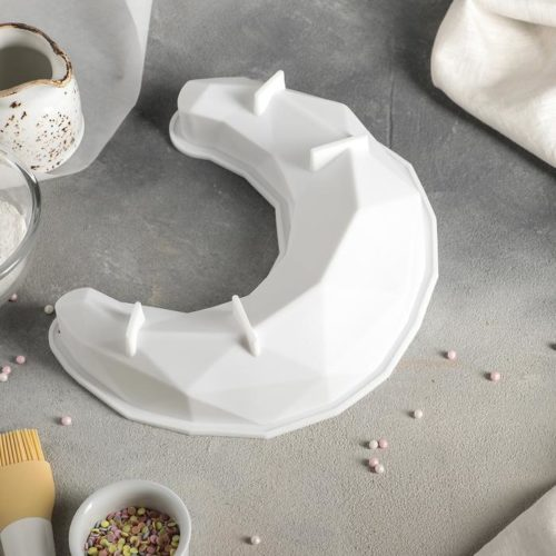 Форма силиконовая для муссового торта «Полумесяц»