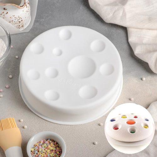 Форма силиконовая для муссового торта «Луна»