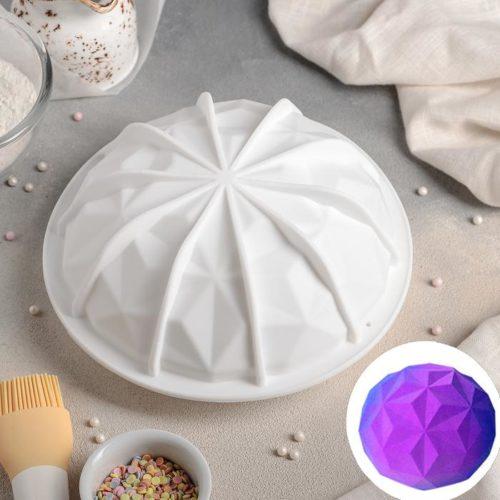Форма силиконовая для муссового торта «Кристалл»
