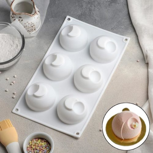 Форма для муссовых десертов «Десерт с фруктами»