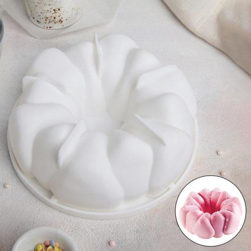 Форма силиконовая для муссового торта «Гранатовый браслет»