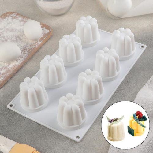 Форма для муссовых десертов «Пудинг»