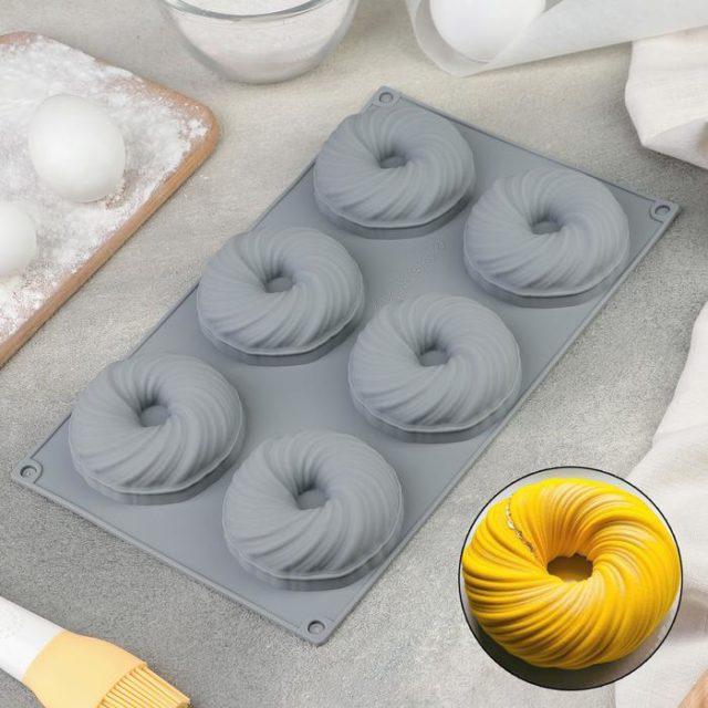 Форма для муссовых десертов «Вихрь»