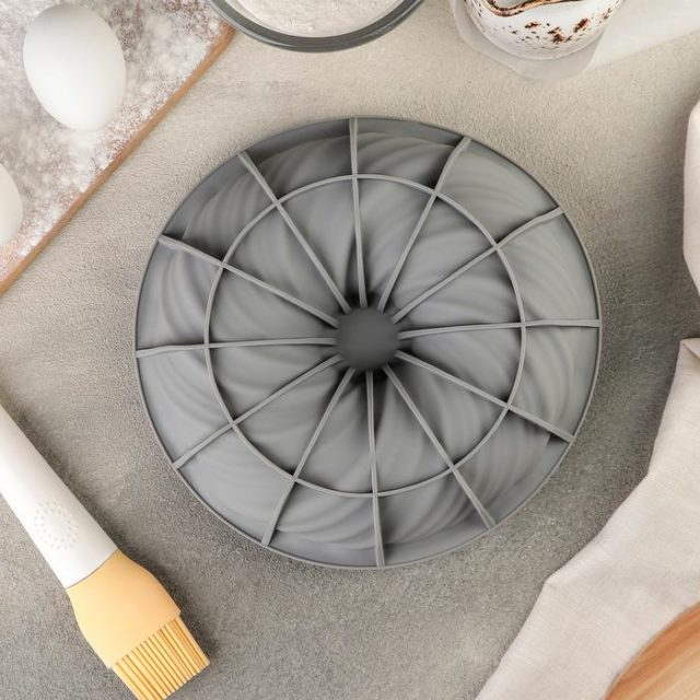 Форма силиконовая для муссового торта «Вихрь»