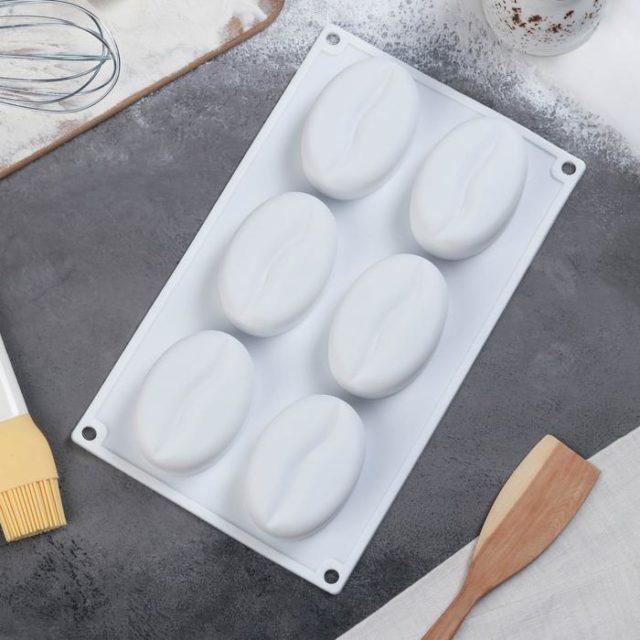 Форма для муссовых десертов «Кофейные зёрна»
