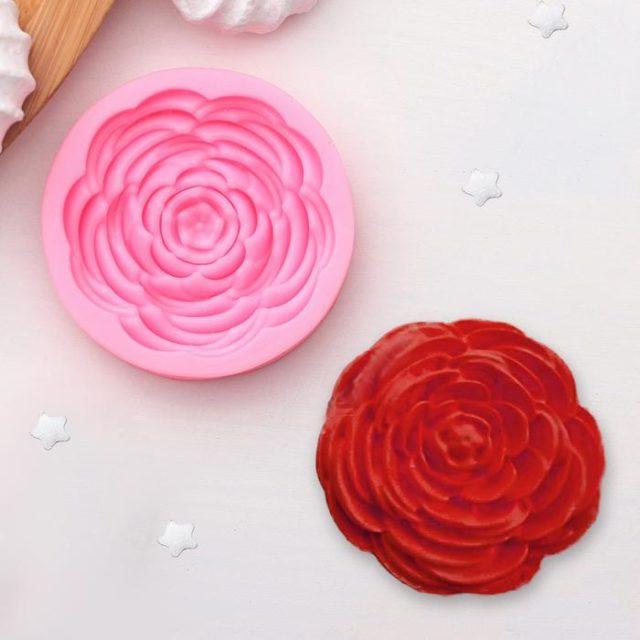 Молд силиконовый «Прекрасная роза»