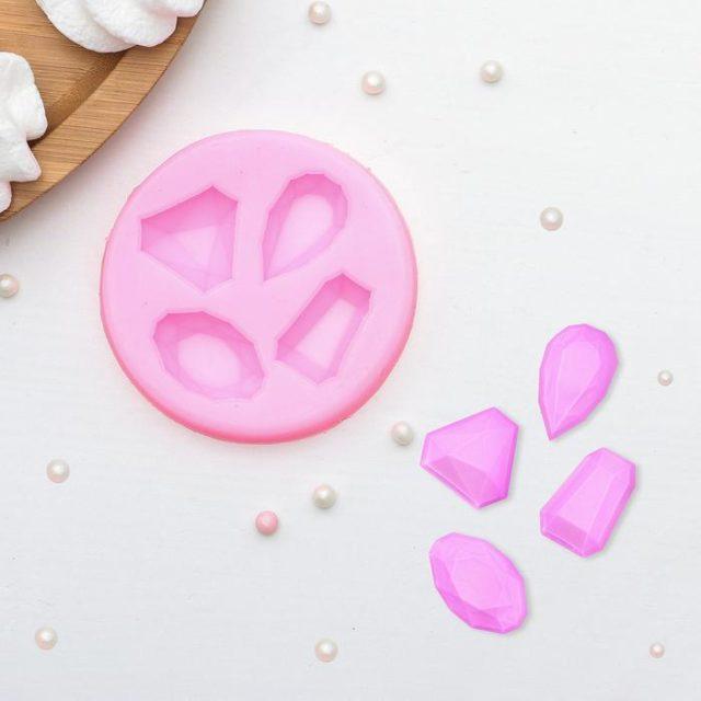 Молд силиконовый «Драгоценные камни»
