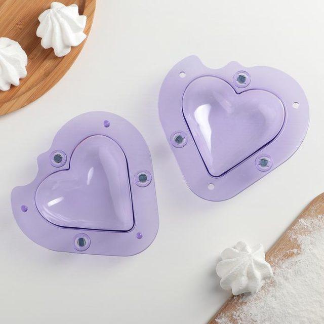 Молд пластиковый «Сердце»