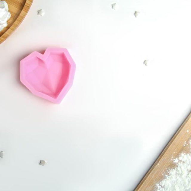 Молд силиконовый «Сердце»