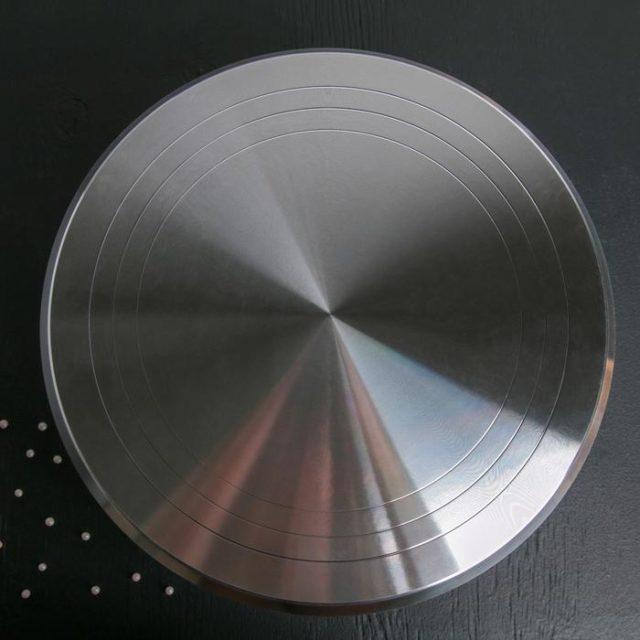 Столик поворотный металлический 31 см