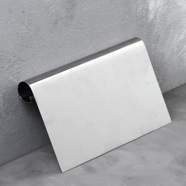 Шпатель кондитерский металлический с ручкой 12×20 см