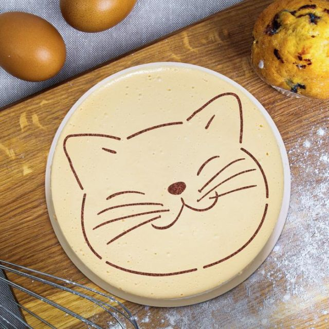 Трафарет для торта «Мордочка»