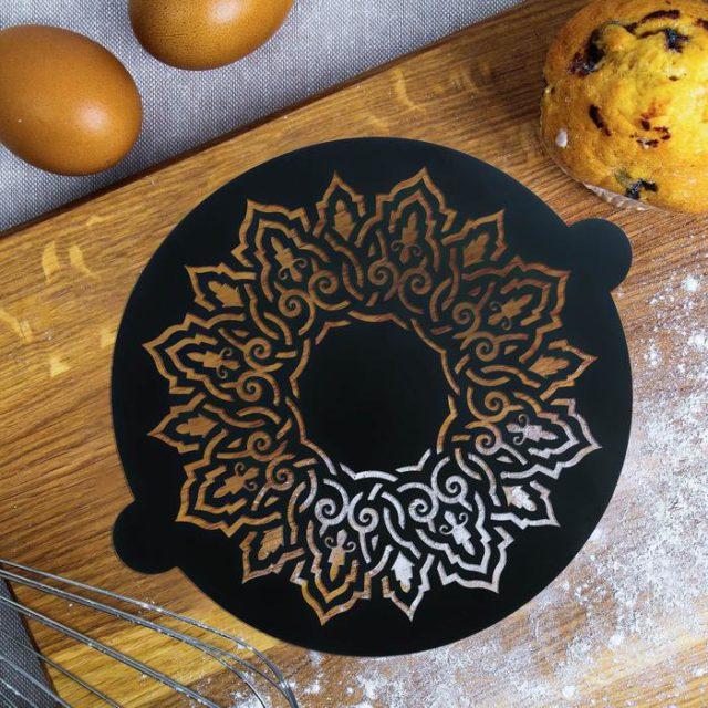 Трафарет для торта «Калейдоскоп»