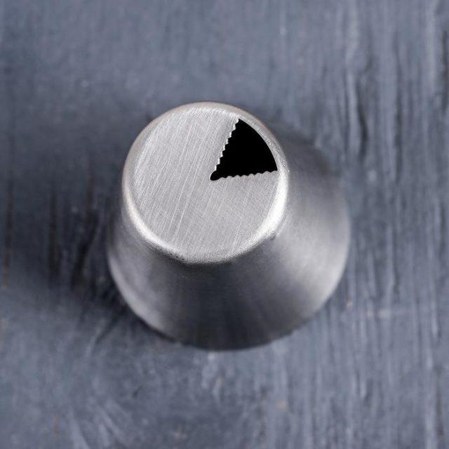Насадка кондитерская «Треугольник рифлёный»