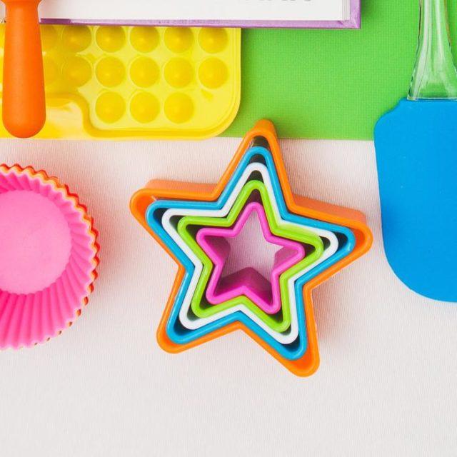 Набор форм для печенья «Звезда»
