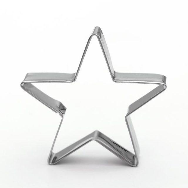 Набор форм для печенья «Остроконечная звезда»