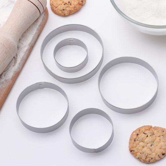 Набор форм для печенья «Круг»