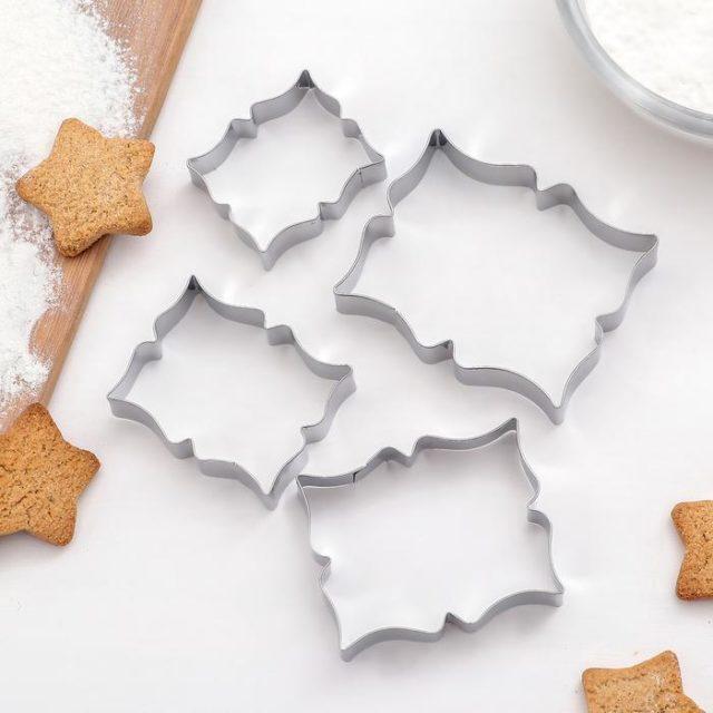 Набор форм для печенья «Рамка для пожелания»
