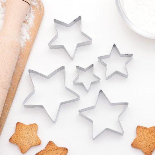 Набор форм для печенья «Звёздочки»