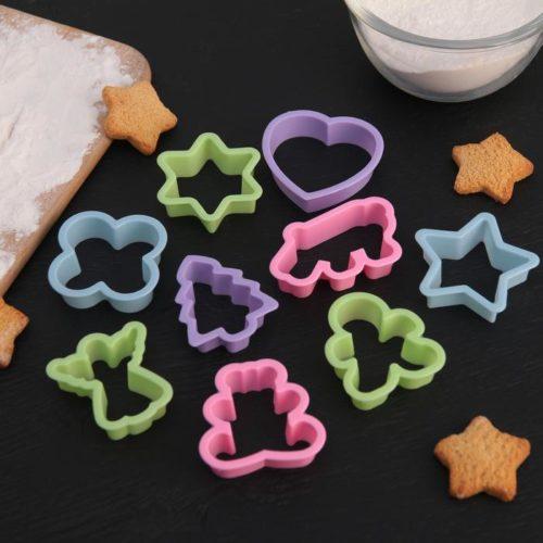 Набор форм для печенья «Праздник»