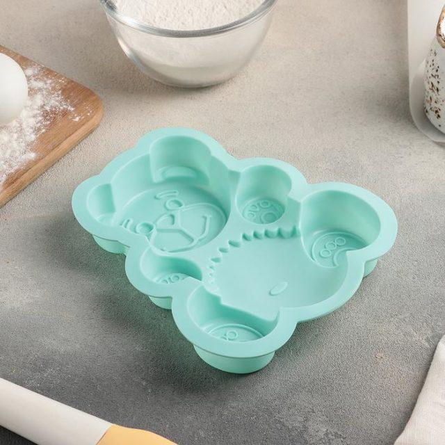 Форма для выпечки «Мишка»
