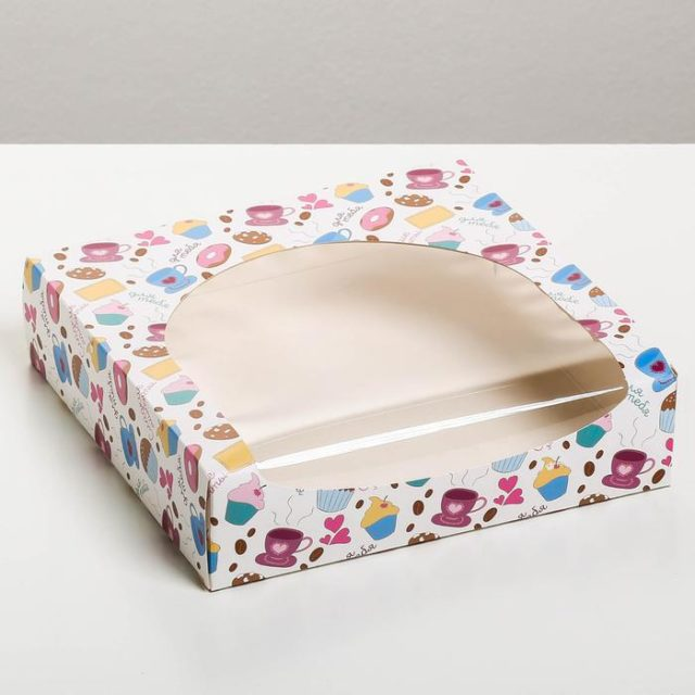 Коробка для десертов «Сладкие моменты»