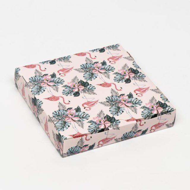 Коробка для десертов «Тропики»